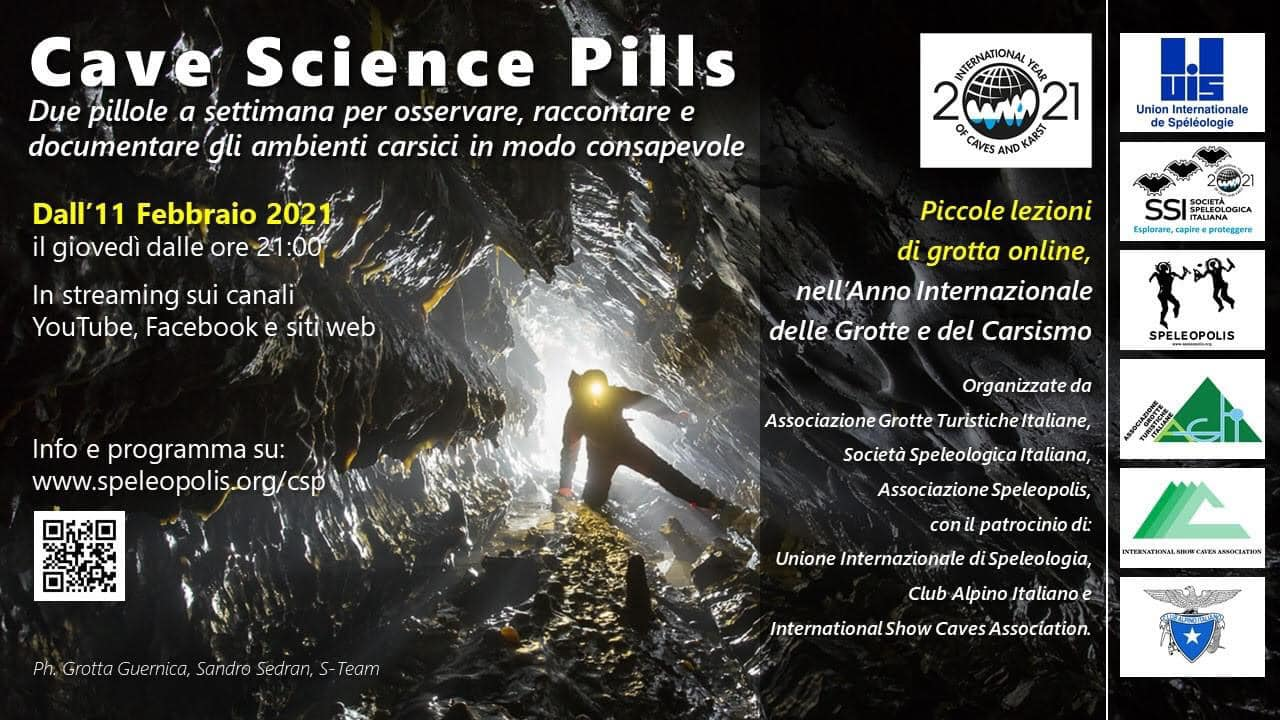 """Cave Science Pills"": scienza in grotta"